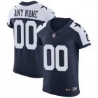Cheap Nike Dallas Cowboys Customized Navy Blue Thanksgiving Stitched Vapor Untouchable Throwback Elite Men's NFL Jersey