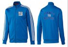 Cheap NFL New York Giants Heart Jacket Blue