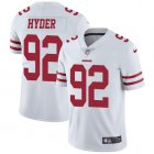 Cheap Nike 49ers #92 Kerry Hyder White Youth Stitched NFL Vapor Untouchable Limited Jersey