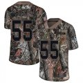 Cheap Nike Steelers #55 Devin Bush Camo Men's Stitched NFL Limited Rush Realtree Jersey
