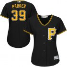 Cheap Pirates #39 Dave Parker Black Alternate Women's Stitched MLB Jersey