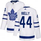 Cheap Adidas Maple Leafs #18 Andreas Johnsson White 2019 St. Patrick's Day Authentic Player Stitched Youth NHL Jersey