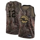 Cheap 76ers #12 Tobias Harris Camo Basketball Swingman Realtree Collection Jersey