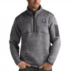 Cheap Indianapolis Colts Antigua Fortune Quarter-Zip Pullover Jacket Charcoal