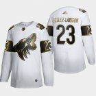 Cheap Arizona Coyotes #23 Oliver Ekman-Larsson Men's Adidas White Golden Edition Limited Stitched NHL Jersey