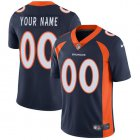Cheap Nike Denver Broncos Customized Navy Blue Alternate Stitched Vapor Untouchable Limited Youth NFL Jersey