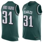 Cheap Nike Eagles #31 Nickell Robey-Coleman Green Team Color Men's Stitched NFL Limited Tank Top Jersey