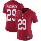 Cheap Nike Giants #29 Xavier McKinney Red Alternate Women's Stitched NFL Vapor Untouchable Limited Jersey