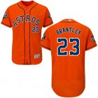 Cheap Astros #23 Michael Brantley Orange Flexbase Authentic Collection 2019 World Series Bound Stitched MLB Jersey