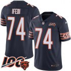 Cheap Nike Bears #74 Germain Ifedi Navy Blue Team Color Youth Stitched NFL 100th Season Vapor Untouchable Limited Jersey