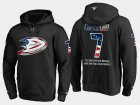 Cheap Ducks #7 Andrew Cogliano NHL Banner Wave Usa Flag Black Hoodie