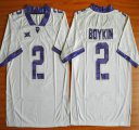 Cheap TCU Horned Frogs #2 Trevone Boykin White 2015 College Football Jersey