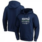 Cheap Seattle Seahawks 2019 NFL Playoffs Bound Hometown Checkdown Pullover Hoodie College Navy