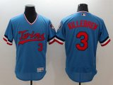 Cheap Twins #3 Harmon Killebrew Light Blue Flexbase Authentic Collection Cooperstown Stitched MLB Jersey