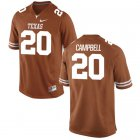 Cheap Men's Texas Longhorns 20 Earl Campbell Orange Nike College Jersey
