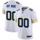 Cheap Los Angeles Chargers Custom Nike White Team Logo Vapor Limited NFL Jersey