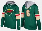 Cheap Wild #6 Ryan Murphy Green Name And Number Hoodie