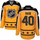 Cheap Bruins #40 Tuukka Rask Yellow 2017 All-Star Atlantic Division Women's Stitched NHL Jersey