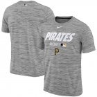 Cheap Pittsburgh Pirates Nike Authentic Collection Velocity Team Issue Performance T-Shirt Gray