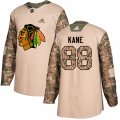 Cheap Adidas Blackhawks #88 Patrick Kane Camo Authentic 2017 Veterans Day Stitched Youth NHL Jersey