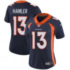 Cheap Nike Broncos #13 KJ Hamler Navy Blue Alternate Women's Stitched NFL Vapor Untouchable Limited Jersey
