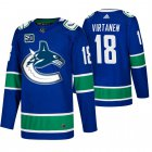 Cheap Men's Vancouver Canucks #18 Jake Virtanen Adidas Blue 2019-20 Home Authentic NHL Jersey
