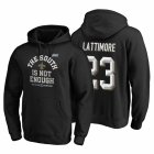 Cheap New Orleans Saints #23 Marshon Lattimore 2019 NFC South Division Champions Black Cover Two Hoodie