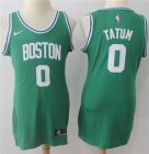 Cheap Nike Boston Celtics #0 Jayson Tatum Green Women's NBA Swingman Icon Edition Jersey