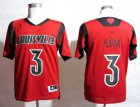 Cheap Louisville Cardinals #3 Peyton Siva 2013 March Madness Red Jersey