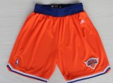 Cheap New York Knicks Orange Short