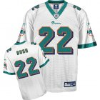 Cheap Dolphins #22 Reggie Bush White Stitched NFL Jersey