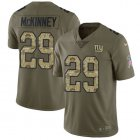 Cheap Nike Giants #29 Xavier McKinney Olive/Camo Youth Stitched NFL Limited 2017 Salute To Service Jersey