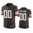 Cheap Cleveland Browns Custom Men's Nike Brown 2020 Vapor Limited Jersey