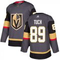 Cheap Adidas Golden Knights #89 Alex Tuch Grey Home Authentic Stitched Youth NHL Jersey