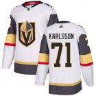 Cheap Adidas Golden Knights #71 William Karlsson White Road Authentic Stitched Youth NHL Jersey