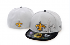 Cheap New Orleans Saints fitted hats 08