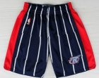 Cheap Houston Rockets Blue Throwback Short