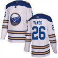 Cheap Adidas Sabres #26 Thomas Vanek White Authentic 2018 Winter Classic Stitched NHL Jersey