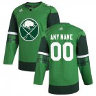 Cheap Buffalo Sabres Men's Adidas 2020 St. Patrick's Day Custom Stitched NHL Jersey Green