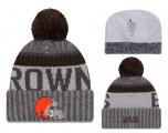 Cheap NFL Cleverland Browns Logo Stitched Knit Beanies 011